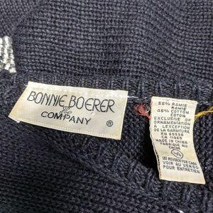 bonnie boerer Dresses - Bonnie Boerer & Company Sequined Sweater Dress